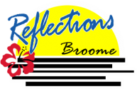 Reflections Broome Logo